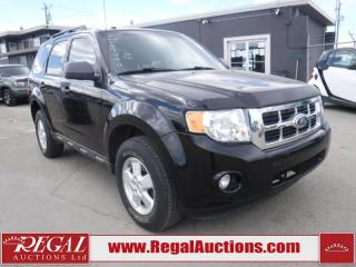 Used 2010 Ford Escape XLT 4D Utility 2WD for sale in Calgary, AB