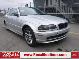 Used 2000 BMW 3 Series 323CI 2D Coupe for sale in Calgary, AB