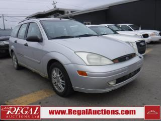 Used 2002 Ford Focus 4D WAGON for sale in Calgary, AB