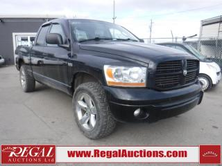 Used 2006 Dodge Ram 1500 4D Quad CAB 4WD for sale in Calgary, AB