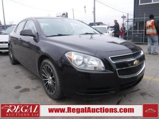 Used 2012 Chevrolet Malibu 4D SEDAN for sale in Calgary, AB