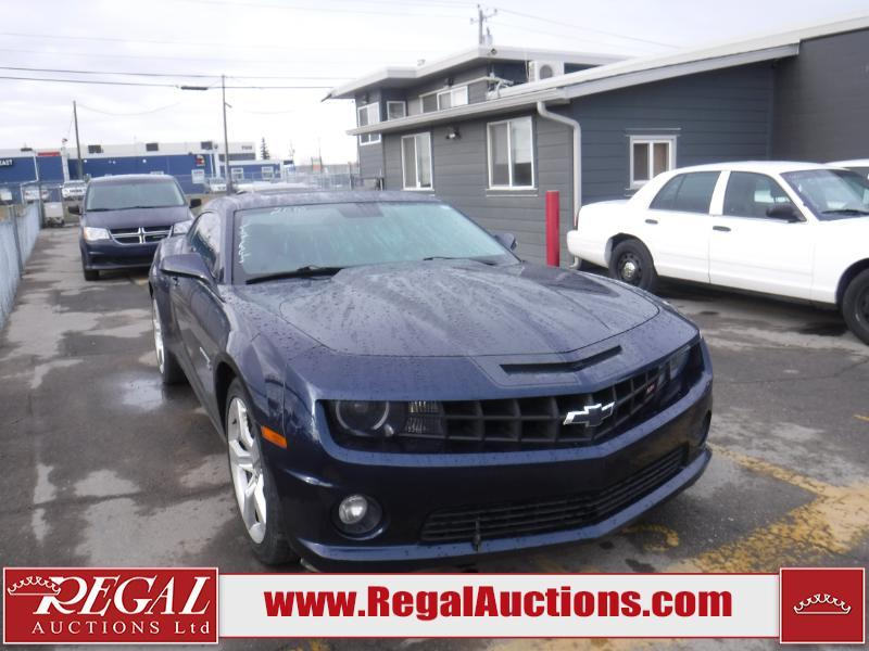 Used 2010 Chevrolet Camaro Ss 2d Coupe For Sale In Calgary