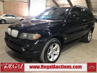 Used 2006 BMW X5 3.0I 4D Utility 4WD for sale in Calgary, AB