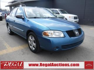 Used 2004 Nissan Sentra 4D Sedan for sale in Calgary, AB