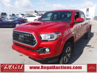 Used 2018 Toyota Tacoma TRD Sport Double CAB 4X4 V6 AT 3.5L for sale in Calgary, AB