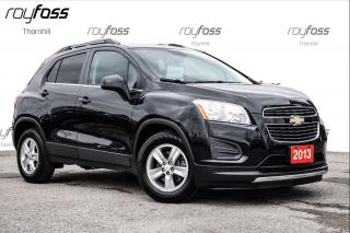 Used 2013 Chevrolet Trax LT Rear Cam Bluetooth Rear Sensors for sale in Thornhill, ON