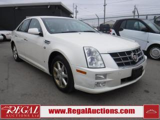 Used 2009 Cadillac STS 4 Luxury 4D Sedan V6 AWD for sale in Calgary, AB