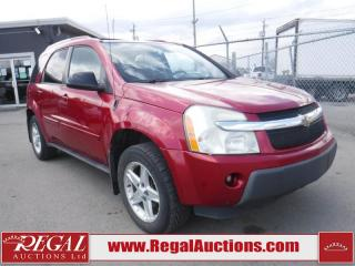 Used 2005 Chevrolet EQUINOX LT 4D UTILITY 4WD for sale in Calgary, AB