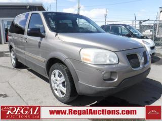 Used 2006 Pontiac Montana 4D Wagon FWD for sale in Calgary, AB