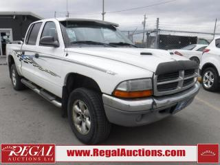 Used 2003 Dodge Dakota 4D Quad CAB 4WD for sale in Calgary, AB