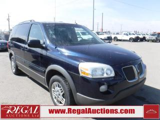 Used 2005 Pontiac Montana SV6 4D Wagon for sale in Calgary, AB