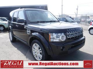 Used 2011 Land Rover LR4 HSE 4D Utility V8 4WD for sale in Calgary, AB