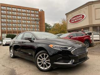 Used 2018 Ford Fusion Hybrid Energi ENERGI + HYBRID | NAVI | CAM | LEATHER | WARRANTY for sale in Scarborough, ON