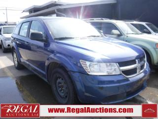 Used 2010 Dodge Journey SE 4D Utility 2WD for sale in Calgary, AB
