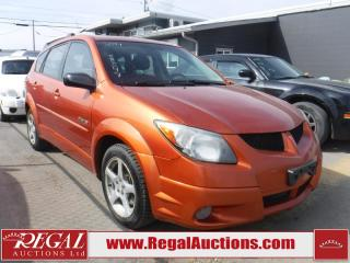 Used 2004 Pontiac Vibe GT 4D Hatchback for sale in Calgary, AB