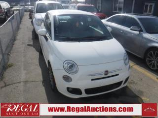 Used 2014 Fiat 500 Sport 2D Hatchback for sale in Calgary, AB