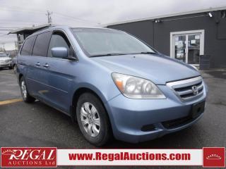 Used 2007 Honda Odyssey EX 4D Wagon for sale in Calgary, AB