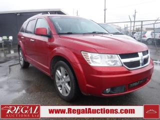 Used 2009 Dodge Journey R/T 4D Utility 4WD for sale in Calgary, AB