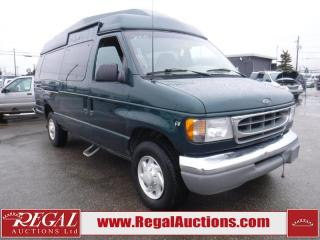 Used 2000 Ford Econoline E-350 4D VAN for sale in Calgary, AB