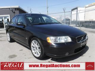 Used 2005 Volvo S60 4D Sedan AWD for sale in Calgary, AB