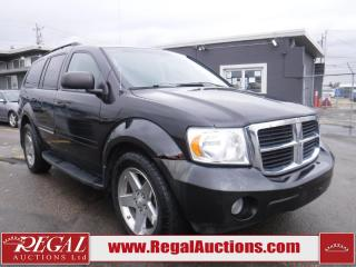 Used 2009 Dodge Durango 4D Utility 4WD for sale in Calgary, AB