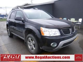 Used 2008 Pontiac Torrent 4D Utility 2WD for sale in Calgary, AB