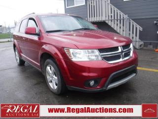 Used 2011 Dodge Journey SXT 4D Utility 2WD for sale in Calgary, AB