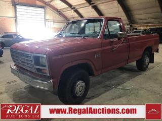 Used 1986 Ford F-250 2D REG CAB 2WD for sale in Calgary, AB