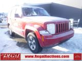 Photo of Red 2008 Jeep Liberty