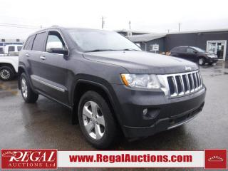 Used 2011 Jeep Grand Cherokee Limited 4D Utility 4WD for sale in Calgary, AB