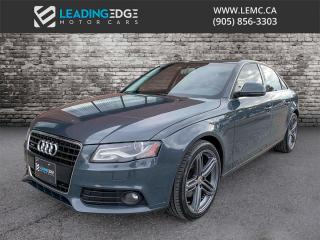 Used 2009 Audi A4 3.2 Quattro, Bang & Olufsen, Blind Spot Monitors for sale in Woodbridge, ON