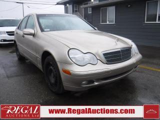 Used 2003 Mercedes-Benz C-Class C240 4D Sedan for sale in Calgary, AB