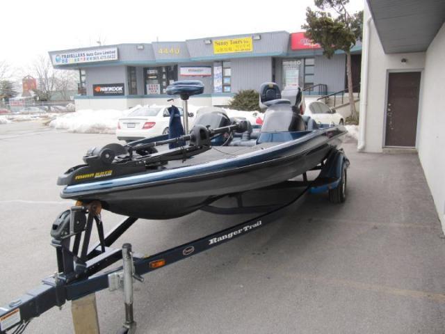 2001 Ranger Bass Boat 518 VX COMMANCHE