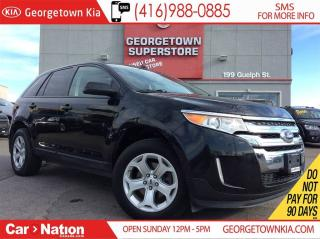 Used 2013 Ford Edge SEL   LEATHER   PANO ROOF   BACK UP CAM  HTD SEATS for sale in Georgetown, ON
