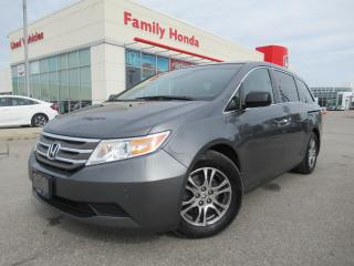 Used 2013 Honda Odyssey EX-L | REAR ENTERTAINMENT SYSTEM | for sale in Brampton, ON
