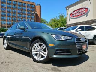 Used 2017 Audi A4 LEATHER   ROOF   CAR PLAY   QUATTRO   4 NEW SNOW TIRES*   for sale in Scarborough, ON