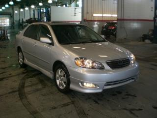 Used 2008 Toyota Corolla S 5M for sale in Red Deer, AB