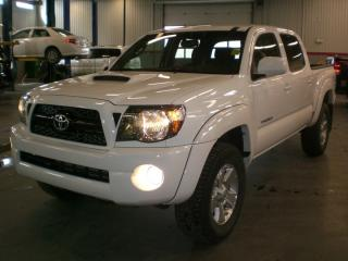 Used 2011 Toyota Tacoma Double Cab SR5 V6 6M for sale in Red Deer, AB