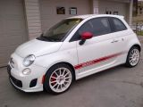 Photo of White 2013 Fiat 500