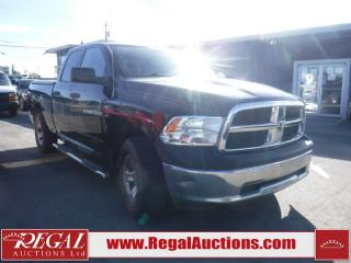 Used 2012 RAM 1500 4D Quad CAB 4WD for sale in Calgary, AB
