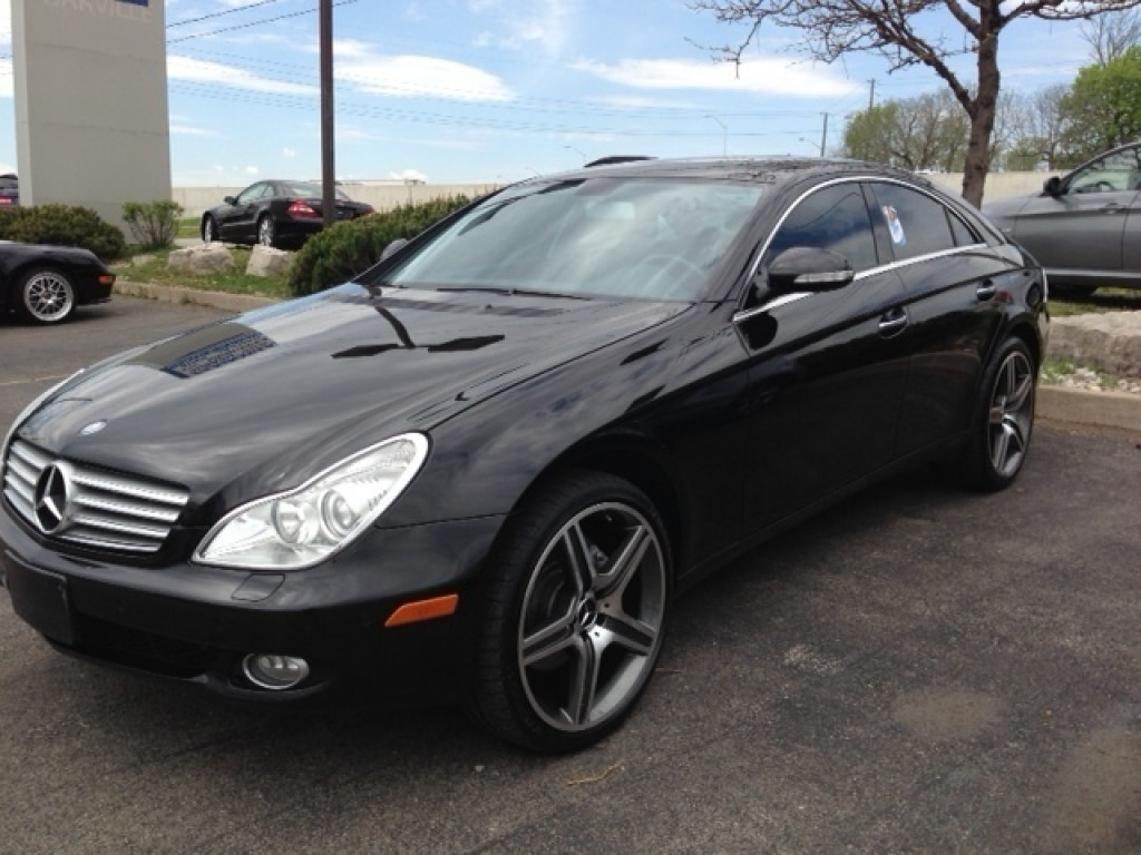Used 2008 mercedes benz cls550 amg for sale in oakville for Used mercedes benz cls for sale