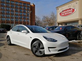 Used 2020 Tesla Model 3 CLEAN CARFAX | SKYVIEW |NAIV| CAM | 4 NEW SNOW TIRES* | for sale in Scarborough, ON