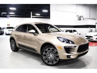 Used 2016 Porsche Macan S   LOW KM   NAVIGATION for sale in Vaughan, ON