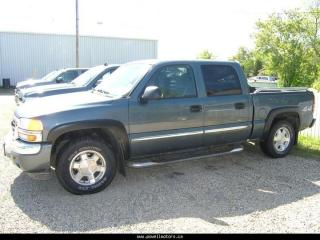 Used 2006 GMC Sierra for sale in Swan River, MB