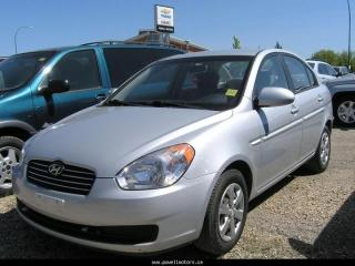 Used 2008 Hyundai Accent for sale in Swan River, MB