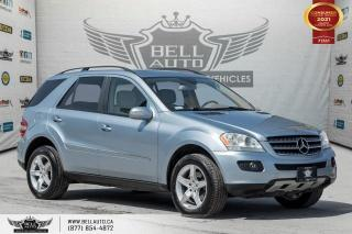 Used 2007 Mercedes-Benz ML-Class 3.5L, NO ACCIDENT, AWD, NAVI, SUNROOF, MEMO SEAT for sale in Toronto, ON