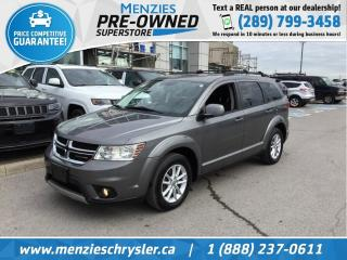 Used 2013 Dodge Journey SXT, Alloys, Fog Lamps, Clean Carfax for sale in Whitby, ON