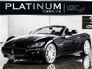 Used 2010 Maserati GranTurismo 4.7 S CONVERTIBLE, NAVIGATION, BOSE AUDIO for sale in Toronto, ON