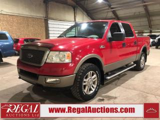 Used 2005 Ford F-150 CREW CAB 4WD for sale in Calgary, AB