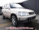 Used 2000 Honda CR-V 4D Utility 4WD for sale in Calgary, AB